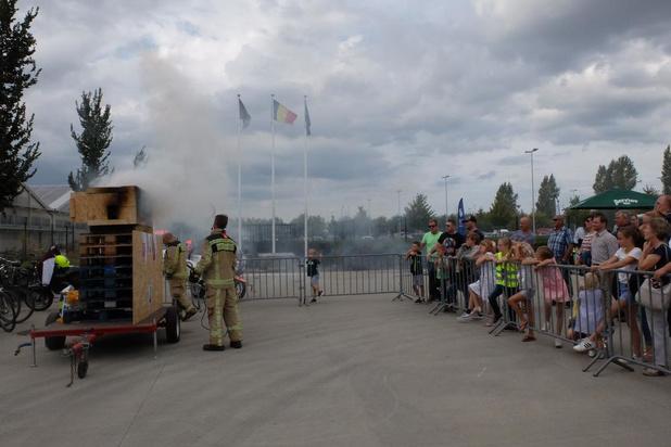 Open dag bij de brandweerpost van Veurne