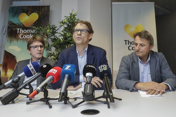 Thomas Cook Retail België failliet verklaard