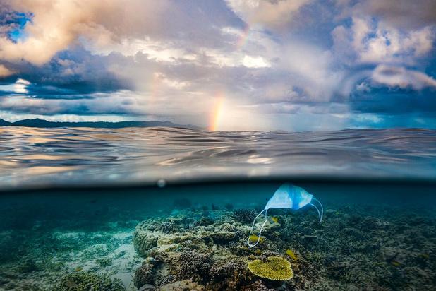 Les masques buccaux, nouveau poison des océans: il leur faut plus de 4 siècles pour se décomposer