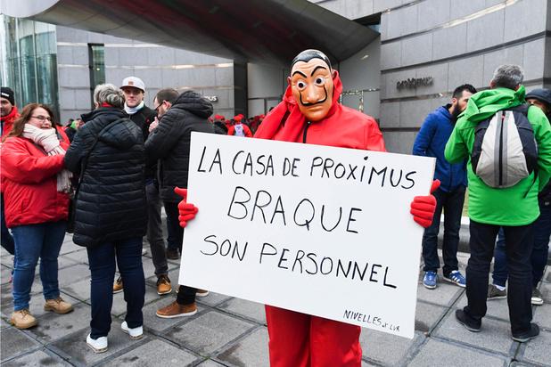 Restructuration chez Proximus: les travailleurs se sont sentis abandonnés par l'État