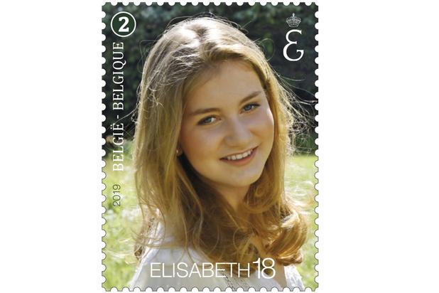 Un timbre-poste officiel pour l'anniversaire de la Princesse Elisabeth