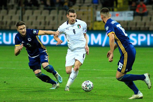 Euro 2020: La Suède douzième nation qualifiée, le maximum pour l'Italie, le Danemark doit patienter