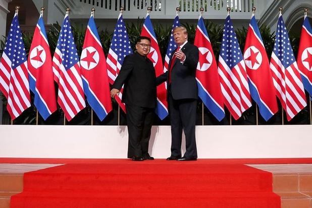 Trump nodigt Kim Jong-un uit voor nieuwe ontmoeting: 'Zie ik u aan de grens?'