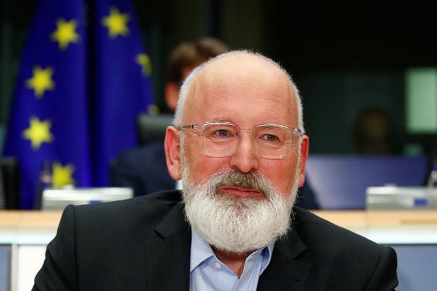 Oer-Europeaan Frans Timmermans torst het paradeproject van de Europese Commissie