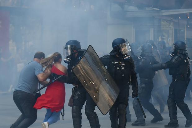 Manifestations à Paris samedi: 158 personnes placées en garde à vue, selon le parquet