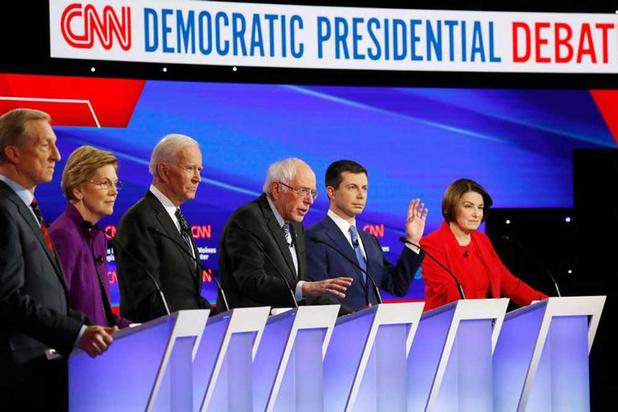 Vete tussen Sanders en Warren verder aangewakkerd tijdens laatste debat