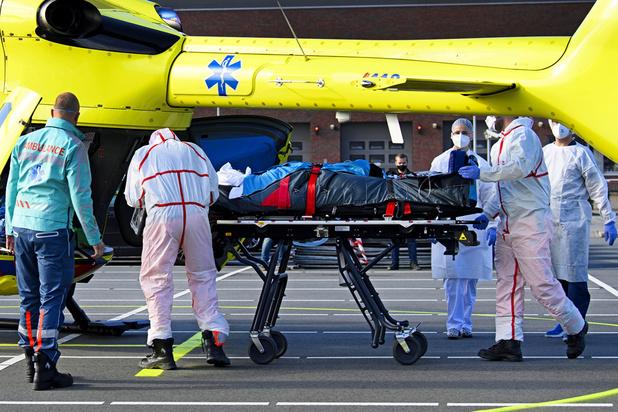 Un 2e hélicoptère affrété en province de Liège pour les transferts de patients Covid