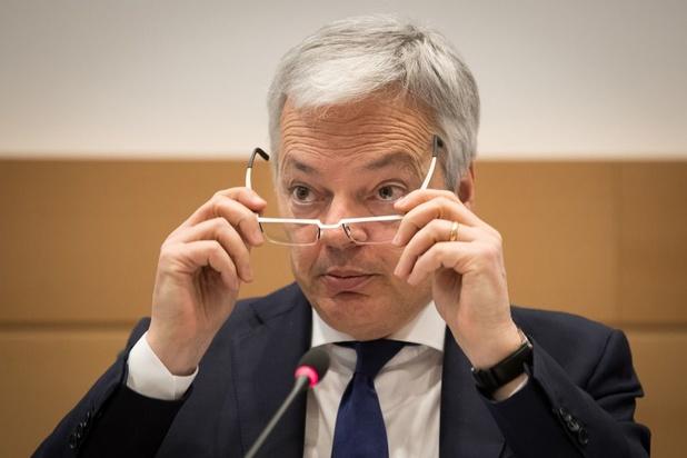 Gespannen sfeer bij hoorzitting Reynders over Libische fondsen