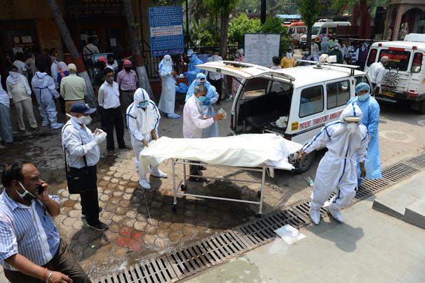 Virus: à Delhi l'inquiétude grandit face à une pénurie de lits