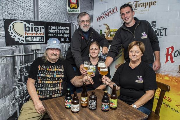 Bier proeven tijdens Bierfestival #VANRSL in Roeselare