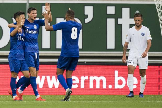 AA Gent maatje te groot voor Viitorul in voorronde Europa League