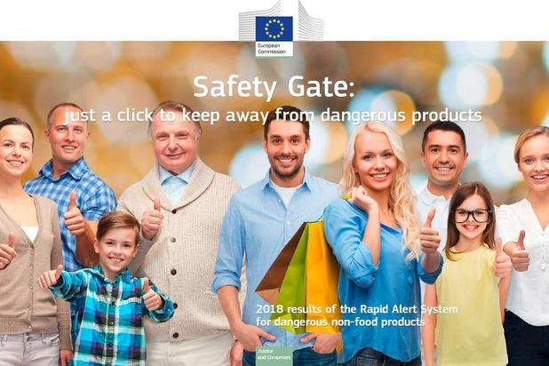 """""""Safety Gate"""", l'outil de protection des consommateurs de la Commission européenne"""