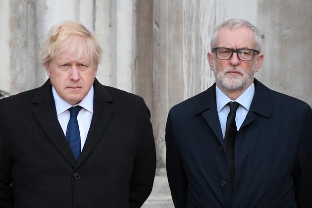 'Boris Johnson is populairder dan Jeremy Corbyn, maar niet veel'