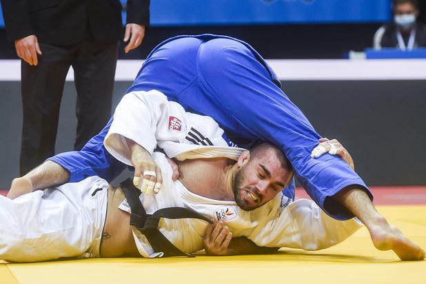 Geen medailles voor Toma Nikiforov en Sophie Berger op EK judo in Praag