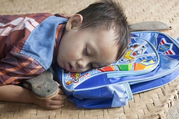 Schoolkinderen halen betere resultaten door middagdutje