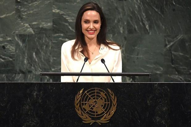 Angelina Jolie à l'ONU