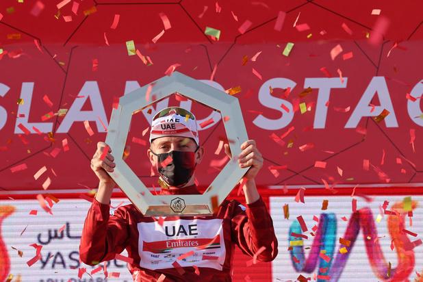 Dubbelslag voor Pogacar in Tirreno-Adriatico, Van Aert is leiderstrui kwijt