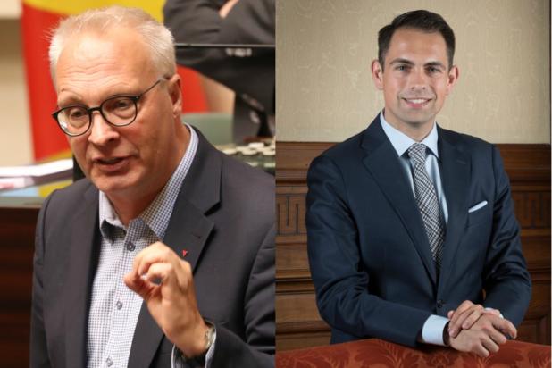 Peter Mertens (PVDA) en Tom Van Grieken (VB) in gesprek: 'U bent veel te dogmatisch'