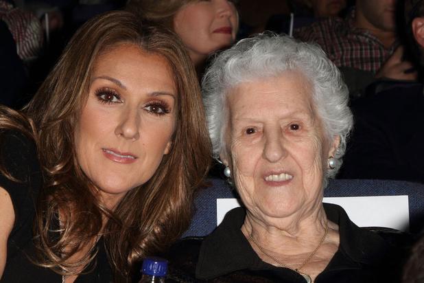 Décès de la maman de Céline Dion