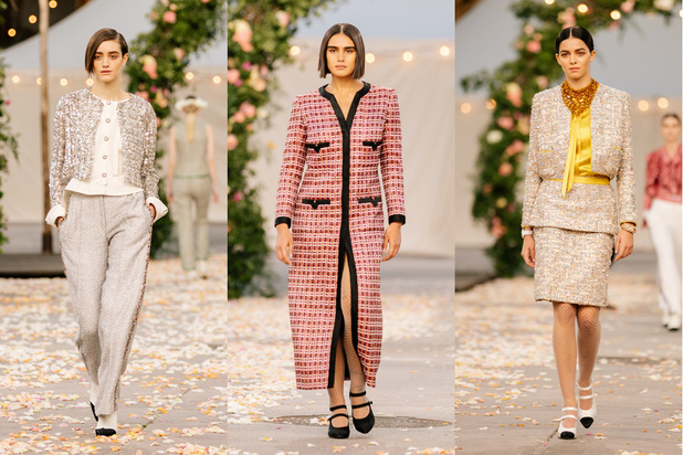 Chanel haute couture fait sa révolution avec un mannequin aux formes généreuses sur le catwalk