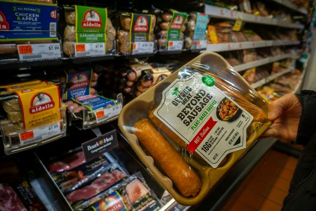 La start-up vegan Beyond Meat suscite l'appétit vorace des investisseurs