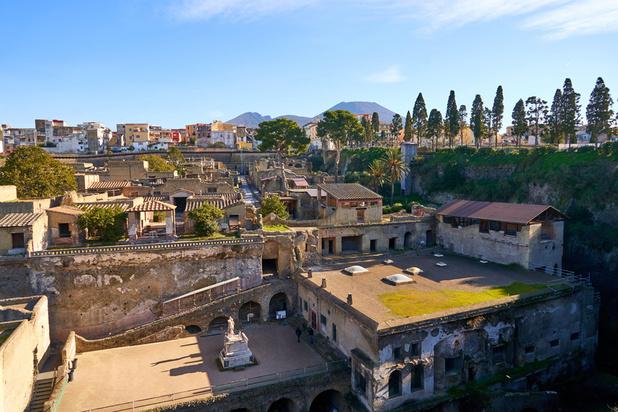 En images: splendeur de l'Antiquité, la Maison du Bicentenaire à Herculanum rouvre ses portes