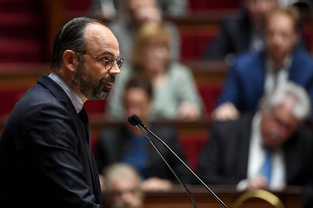 Franse premier Edouard Philippe legt strijd tegen milieuvervuiling vast in regeringsverklaring