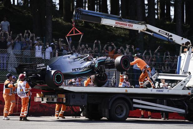 Grand Prix de Belgique de F1: Hamilton sort de piste, Leclerc domine de la 3e séance d'essais