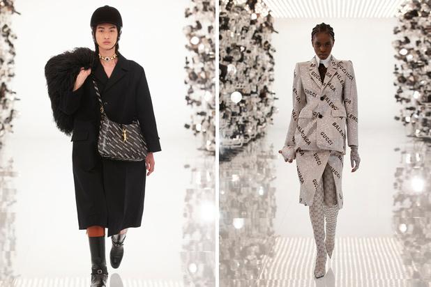 Gucci 'hackt' Balenciaga en de modewereld staat op z'n kop