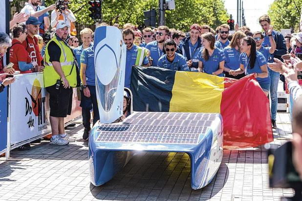 La Belgique a gagné le World Solar Challenge