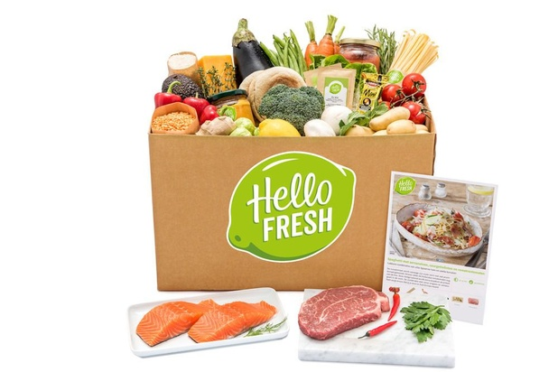 Gros succès de la box HelloFresh durant le confinement