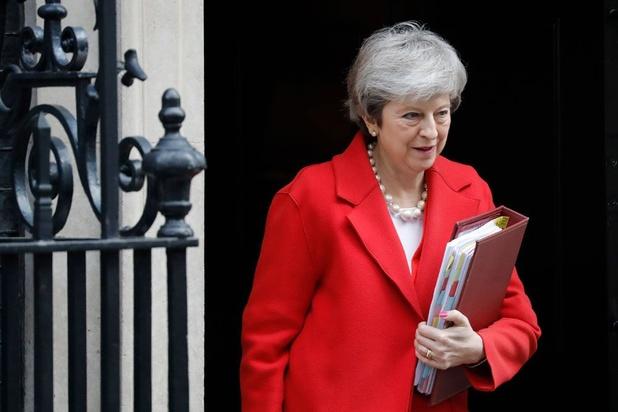 Hoe Theresa May genekt werd door de brexit