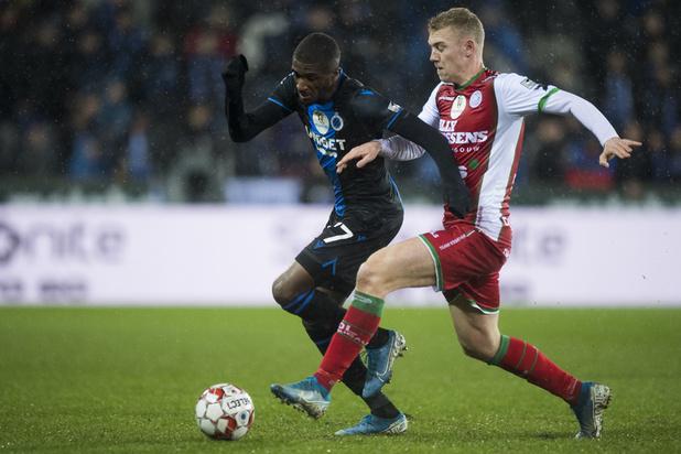 Bruges termine 2019 par un large succès contre Zulte