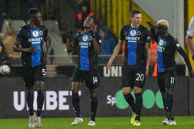 Club Brugge gaat winterstop in met duidelijke zege tegen Zulte Waregem