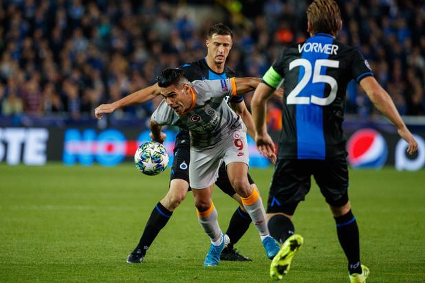 Club Brugge raakt in Champions League-opener niet voorbij Galatasaray