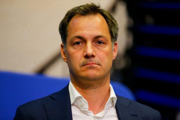 """Alexander De Croo : """"La politique de la BCE commence à avoir beaucoup d'effets négatifs"""""""