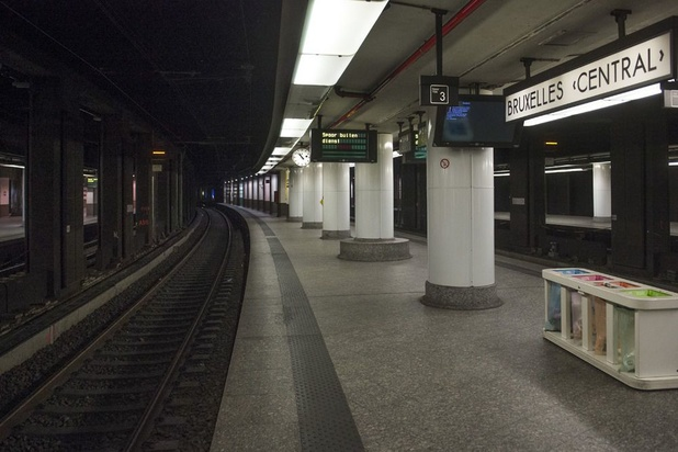 Une panne informatique perturbe le trafic ferroviaire à Bruxelles