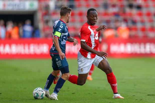 Jupiler Pro League: Le Standard bat Courtrai et reprend la deuxième place