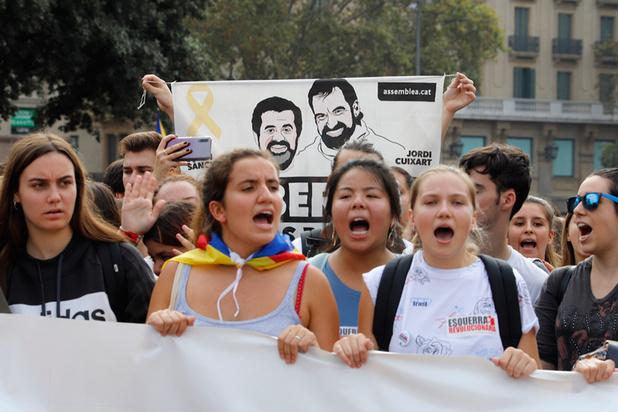 'Dit repressief optreden bewijst enkel dat de Catalaanse separatisten overschot van gelijk hebben'