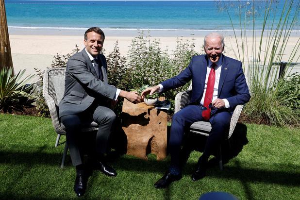 Emmanuel Macron et Joe Biden s'expliquent enfin sur la crise des sous-marins