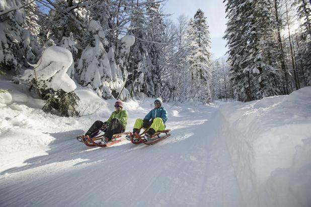 Pas de ski en Bavière à Noël