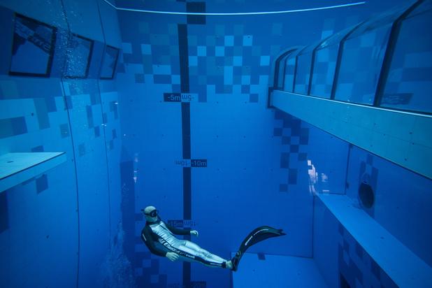La piscine la plus profonde du monde vient d'ouvrir ses portes