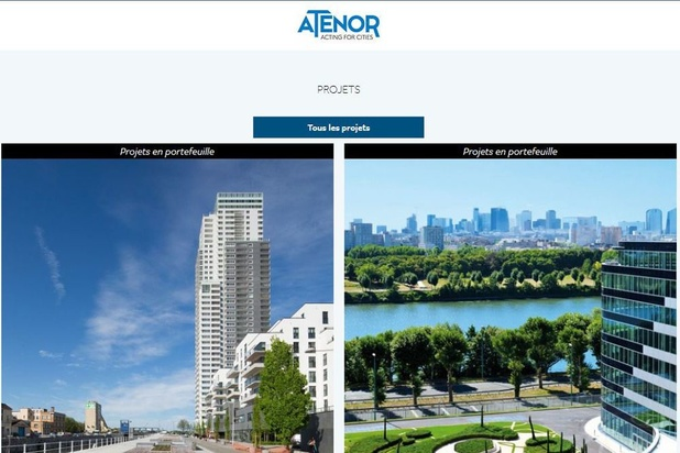Pléthore de projets, chez Atenor