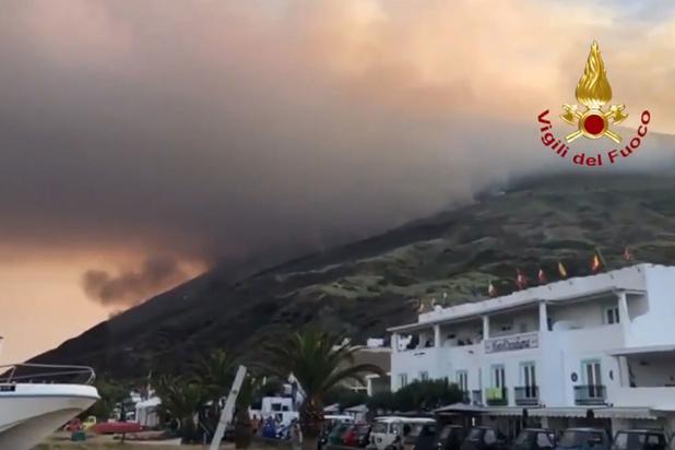 Hevige uitbarsting vulkaan Stromboli: minstens één dode