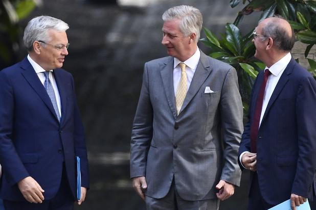 Les informateurs royaux au Palais pour un nouveau rapport intermédiaire