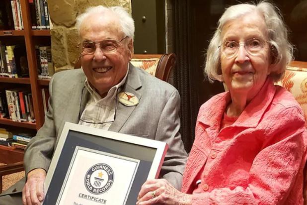 Le couple le plus âgé du monde célèbre ses 80 ans de mariage