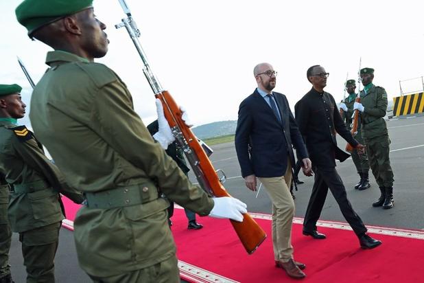 Charles Michel en visite à Kigali pour le 25ème anniversaire du début du génocide