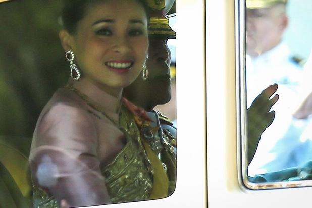 Suthida, ancienne hôtesse de l'air et garde du corps, reine de Thaïlande
