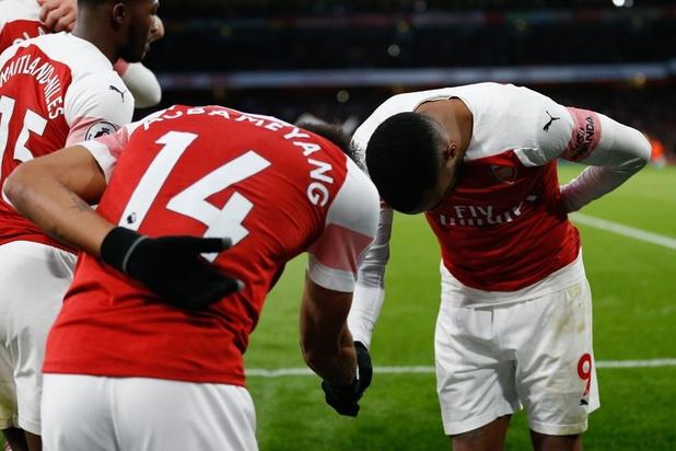 Hoe Arsenal geniet van de bromance tussen Aubameyang en Lacazette