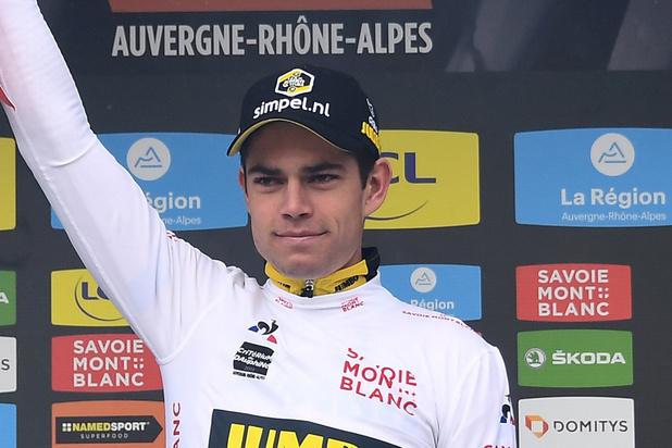 Indrukwekkende Wout Van Aert wint tijdrit in Dauphiné